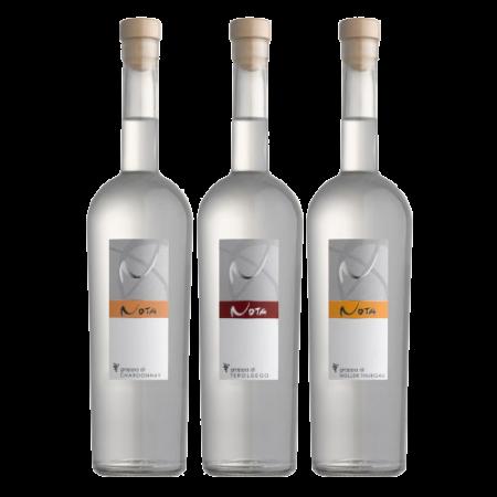 Nota Grappa di Chardonnay Teroldego e Müller Thurgau